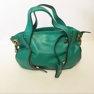 Oryany Green Satchel Purse